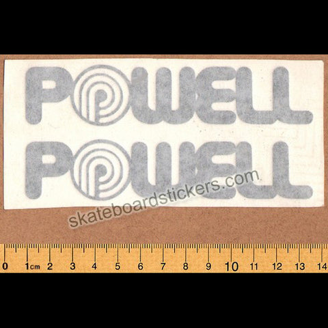 Powell Peralta Old School Vintage Rub-on Skateboard Sticker