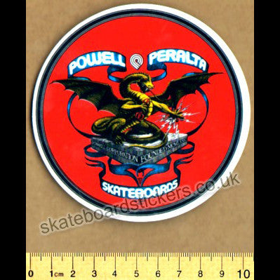 Powell Peralta Old School Bones Brigade Skateboard Sticker - SkateboardStickers.com
