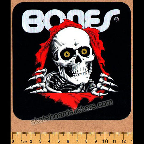 Powell Peralta Old School Ripper Skateboard Sticker - SkateboardStickers.com