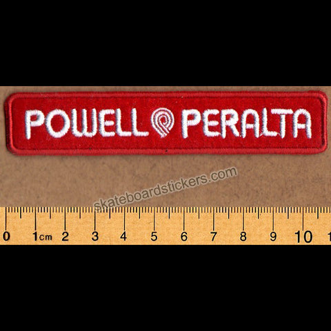 Powell Peralta Strip Skateboard Patch - SkateboardStickers.com