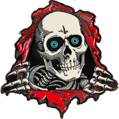 Powell Peralta Ripper Lapel Pin - SkateboardStickers.com  - 1