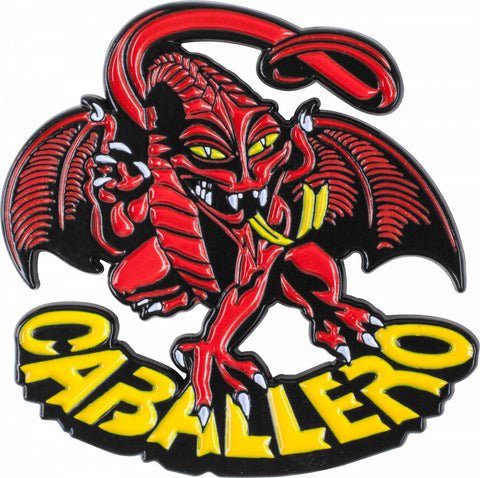 Powell Peralta Cab Dragon Lapel Pin Badge
