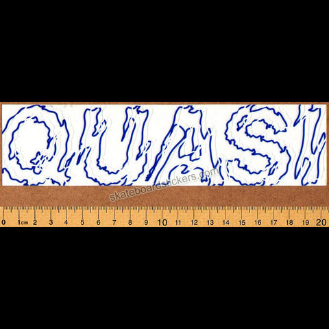 Quasi - Tribe Skateboard Sticker - SkateboardStickers.com