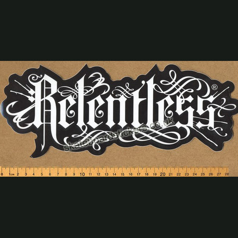 Relentless Energy Skateboard / BMX / MX Sticker - SkateboardStickers.com