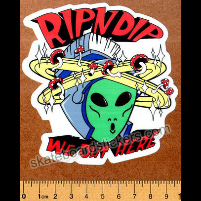 Rip N Dip Skateboard Sticker