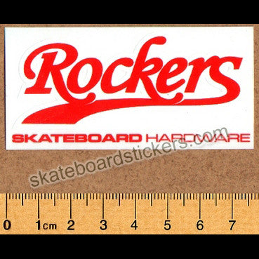 Rockers Hardware Skateboard Sticker - SkateboardStickers.com