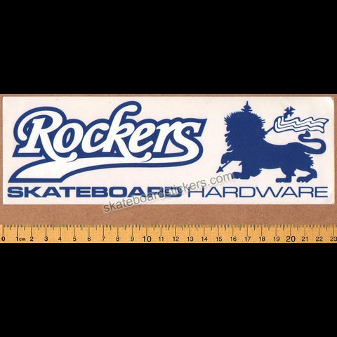 Rockers Hardware Skateboard Sticker