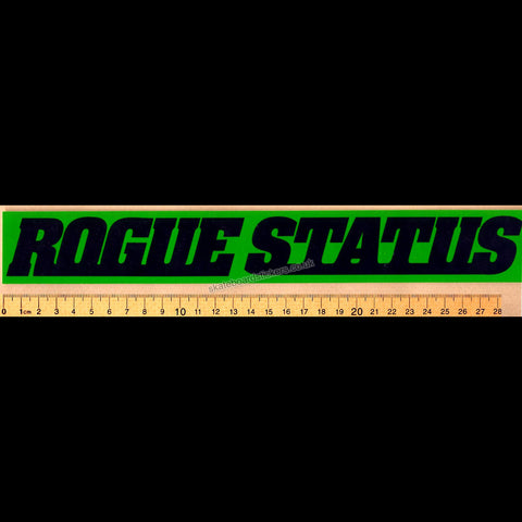Rogue Status Skateboard Sticker - SkateboardStickers.com