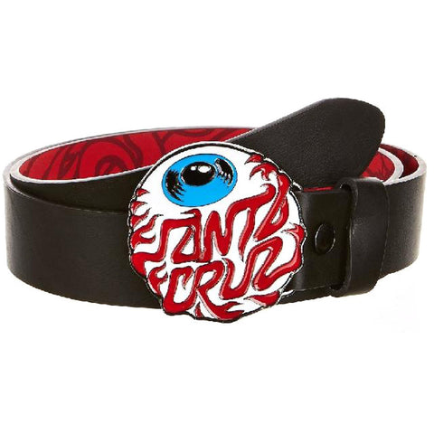 Santa Cruz Eyeball Belt - S/M - SkateboardStickers.com