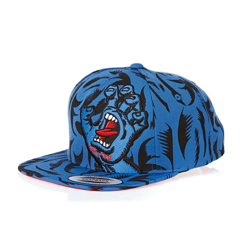 Santa Cruz Screaming Hand Snapback Baseball Cap - SkateboardStickers.com