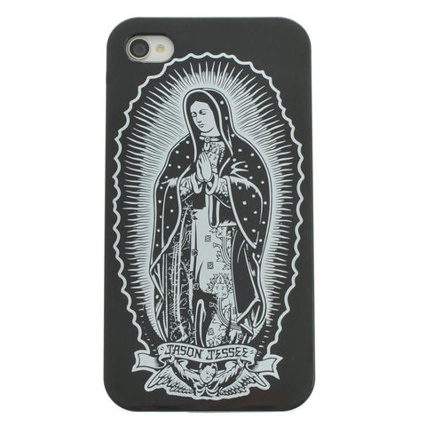 Santa Cruz Jason Jessee Guadalupe iPhone 4 Cover - SkateboardStickers.com