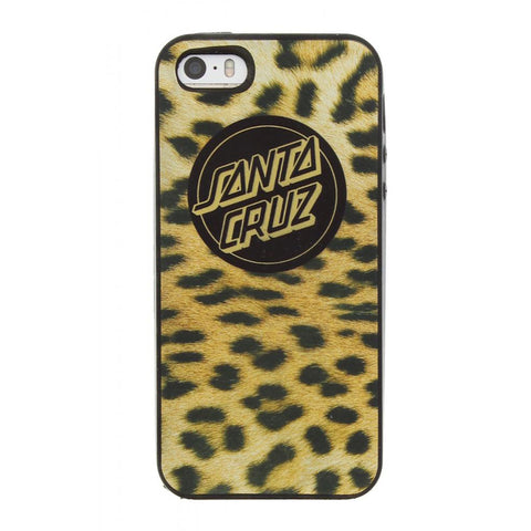 Santa Cruz Leopard Skin iPhone 5/5S Cover / Case - SkateboardStickers.com