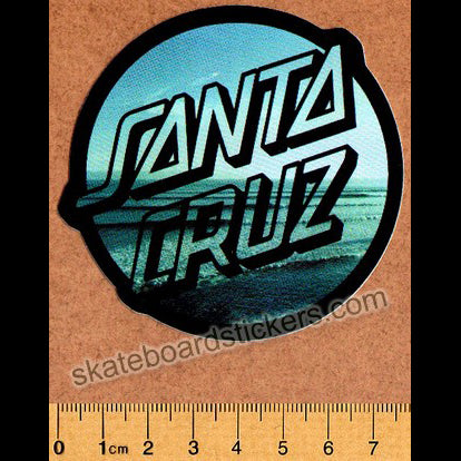 Santa Cruz Homebreak Skateboard Sticker