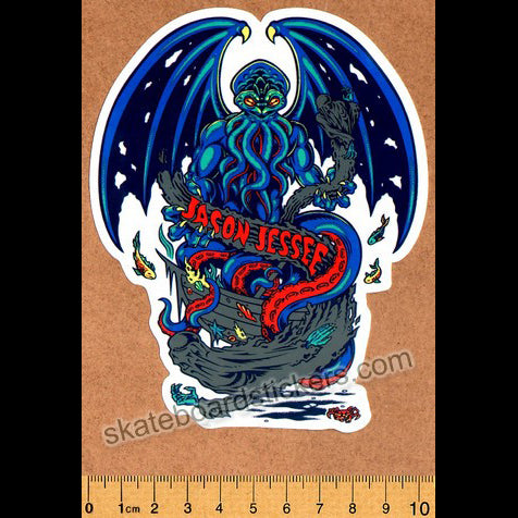 Santa Cruz - Jason Jessee Cthulhu Skateboard Sticker