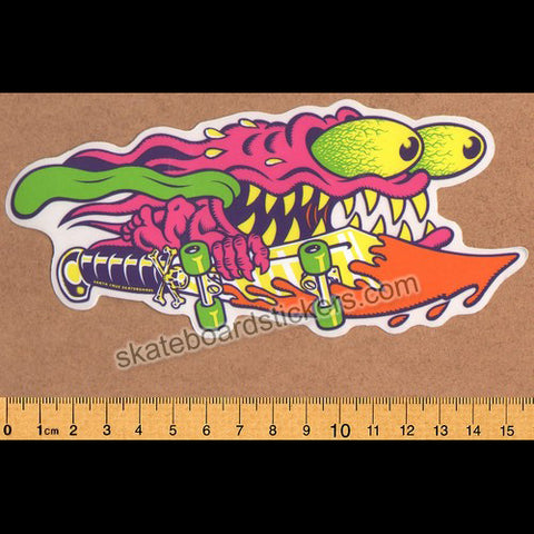 Santa Cruz Slasher Colour Skateboard Sticker