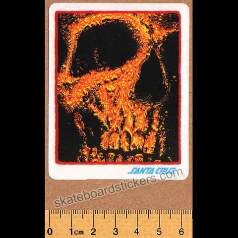 Santa Cruz Street Creep Redux Skateboard Sticker