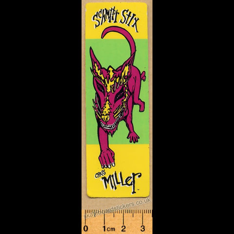 Schmitt Stix - Chris Miller Old School Skateboard Sticker