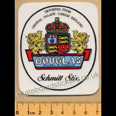 Schmitt Stix - Steve Douglas Old School Skateboard Sticker