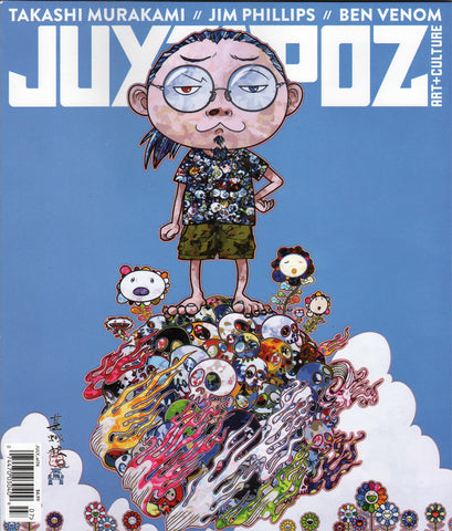 Juxtopoz Art & Culture Magazine - Jim Phillips Screaming Hand Feature - SkateboardStickers.com