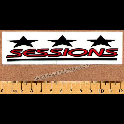 Sessions Old Skateboard / Snowboard Sticker
