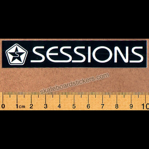 Sessions Skateboard / Snowboard Sticker - Regular