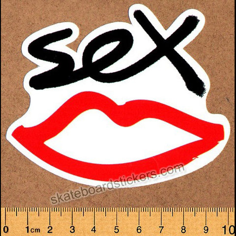 Sex Skateboards Skateboard Sticker - SkateboardStickers.com