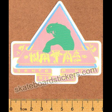 Santa Monica Airlines / SMA - Natas Kaupas Skateboard Sticker