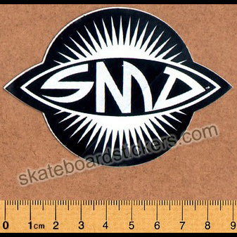 Santa Monica Airlines / SMA Logo Old School Vintage Skateboard Sticker