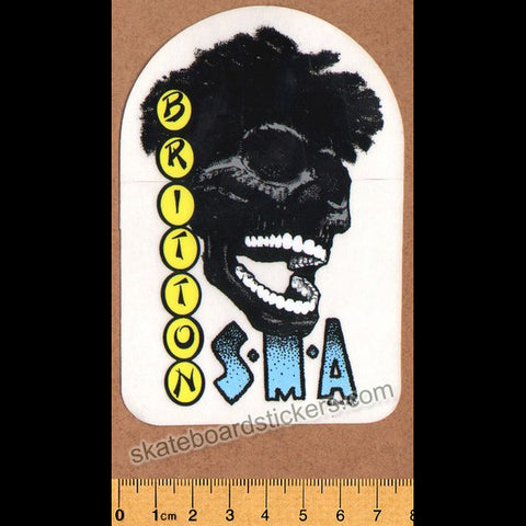 Santa Monica Airlines / SMA Eric Britton Old School Vintage Skateboard Sticker