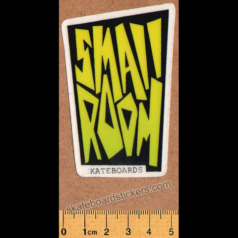 Smallroom Old School Vintage Skateboard Sticker