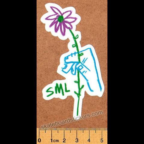 Small Wheels (SML.) Skateboard Sticker