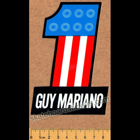 Spitfire Wheels Skateboard Sticker - Mariano No. 1 - SkateboardStickers.com
