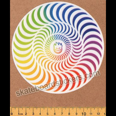 Spitfire Wheels - Slash Classic Skateboard Sticker