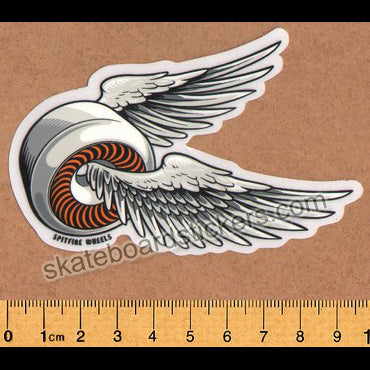 Spitfire Wheels - OG Classic Skateboard Sticker - Orange med