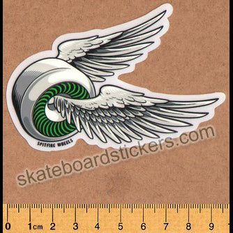 Spitfire Wheels - OG Classic Skateboard Sticker - Green med