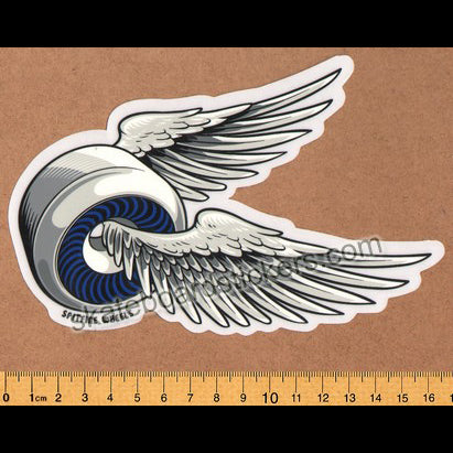 Spitfire Wheels - OG Classic Skateboard Sticker - Blue lrg