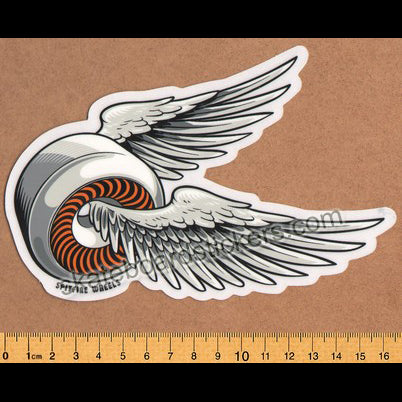 Spitfire Wheels - OG Classic Skateboard Sticker - Orange lrg