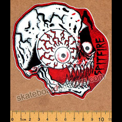 Spitfire Wheels X Neckface Skateboard Sticker