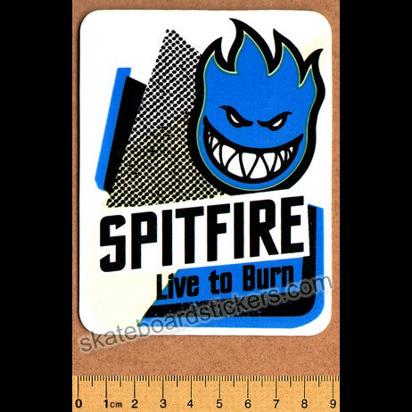Spitfire Wheels Skateboard Sticker - SkateboardStickers.com