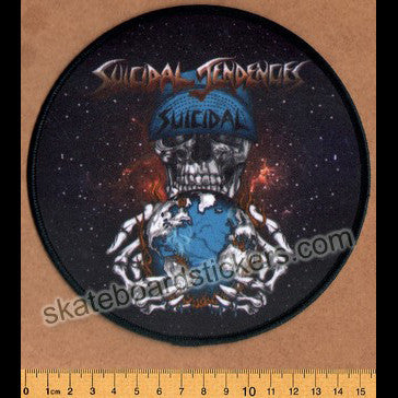 Suicidal Tendencies World Gone Mad Music Patch - SkateboardStickers.com