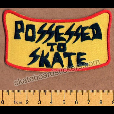 Suicidal Embroidered Skateboard Patch - Possessed To Skate