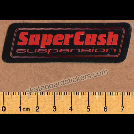 Thunder Trucks SuperCush Bushings Old Skateboard Sticker