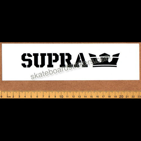 Supra Footwear Skateboard Sticker - SkateboardStickers.com