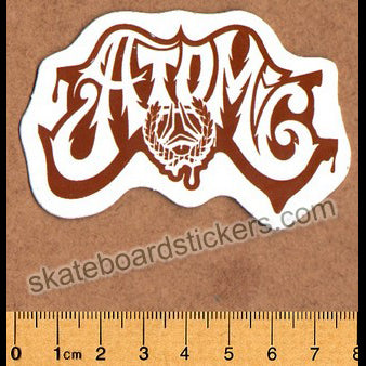 Atomic Surf / Surfing / Surfboard Sticker