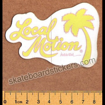 Local Motion Surf / Surfing / Surfboard Sticker