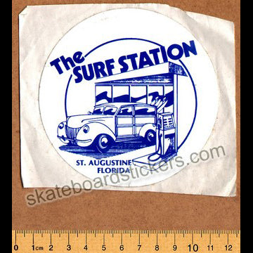 The Surf Station Surf / Surfing / Surfboard Sticker