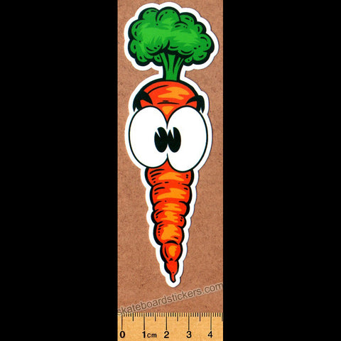 Thank You Skateboard Sticker - Carrot