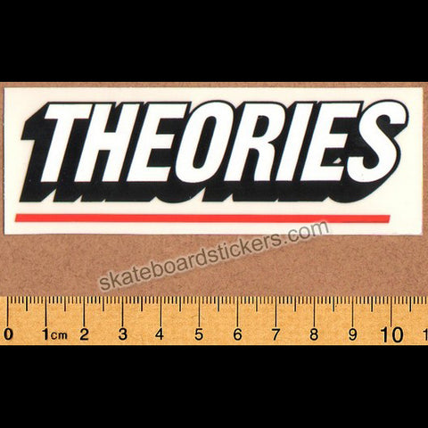 Theories of Atlantis Skateboard Sticker - Logo