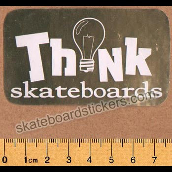 Think Skateboards Old School Sticker