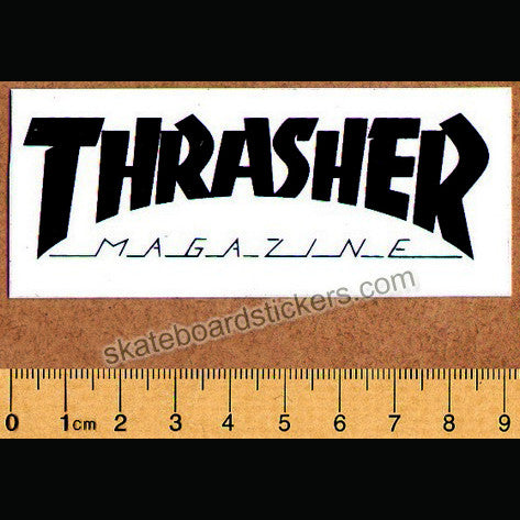 Thrasher Magazine Logo Old School Skateboard Sticker